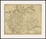 Germany North, c.1812 Prints by Aaron Arrowsmith