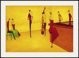 Bar Jazz Prints by Thierry Ona