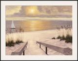 Beach Glow Prints by Diane Romanello