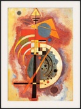 Hommage to Grohmann Art by Wassily Kandinsky