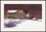 Evening at Knabb Farm Framed Giclee Print by B. Hendershot