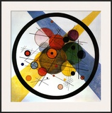 Circles in Circle Posters by Wassily Kandinsky