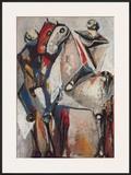 Zwei Reiter Prints by Marino Marini