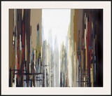 Urban Abstract No. 159 Framed Giclee Print by Gregory Lang