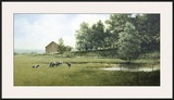 Country Lane Framed Giclee Print by Ray Hendershot