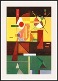 Zersetzte Spannung Prints by Wassily Kandinsky