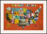 Fifty States, One Nation Prints by Aaron Foster