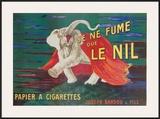 Je Ne Fume Que Le Nil Print by Leonetto Cappiello
