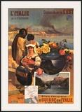 L'Italie Print by Hugo D'Alesi