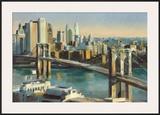 Into Manhattan Prints by Marilyn Hageman