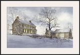 Evening Quiet Framed Giclee Print by Ray Hendershot