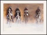 Les Cavaliers de l'Aube Posters by Cédric Cazal