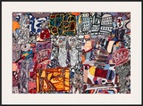 Theatre de Memoire, 1977 Art by Jean Dubuffet
