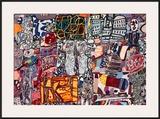 Theatre de Memoire, 1977 Art by Jean Dubuffet