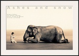 Boy Reading to Elephant, Mexico City Posters by Gregory Colbert