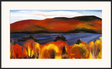 Lake George, Autumn, 1927 Prints by Georgia O'Keeffe