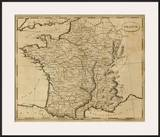 France, c.1812 Prints by Aaron Arrowsmith