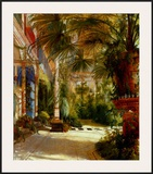 The Palm House Art by Karl Blechen