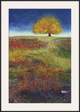 Dreaming Tree in the Field of Magic Prints by Melissa Graves-Brown
