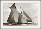The Schooner Susanne Prints by Frank Beken