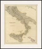Southern Italy, c.1832 Posters by John Arrowsmith