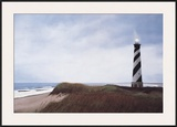 Cape Hatteras Light Poster by David Knowlton