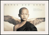 Winged Monk, Mexico City Posters por Gregory Colbert