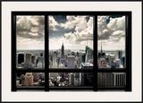 Ventana en Nueva York Póster por Steve Kelley