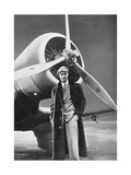 Howard Hughes, US Aviation Pioneer Giclee Print by Science, Industry and Business Library