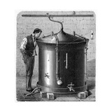 Brewery Vat, 19th Century Giclee Print by CCI Archives