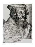 Portrait of Girolamo Fracastoro Giclee Print by Jeremy Burgess