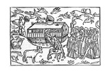 Noah's Ark, 16th-century Bible Giclee Print by King's College