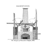 Worcester's Engine Giclee Print by Science, Industry and Business Library