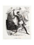 1861 Fossil Man by Boitard Reproduction procédé giclée par Stewart Stewart