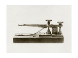 Morse Telegraph Key Giclee Print by Miriam and Ira Wallach