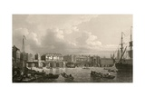 Old London Bridge, 1745 Giclee Print by Miriam and Ira Wallach