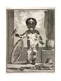 1777 African American Vitiligo Buffon. Giclee Print by Stewart Stewart
