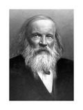 Dmitry Mendeleyev, Russian Chemist Giclee Print by Ria Novosti