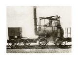 Puffing Billy Locomotive Giclee Print by Miriam and Ira Wallach
