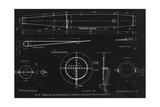 German WWII Ramjet Engine Blueprint Giclee Print by Detlev Van Ravenswaay
