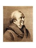 William Herschel, German-English Astronomer Giclee Print by Jeremy Burgess