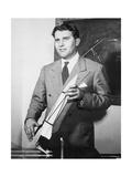 Wernher Von Braun, German Rocket Designer Giclee Print by  NASA