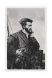 Jacques Cartier, French Explorer Giclee Print by Middle Temple Library