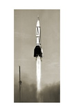 V-2 Rocket Launch In USA Giclee Print by Detlev Van Ravenswaay