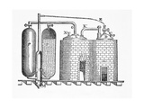 Savery's Engine Giclee Print by Science, Industry and Business Library