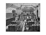 Opera House Generator Room, Artwork Giclee Print by CCI Archives