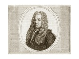 Gabriel Cramer, Swiss Mathematician Giclee Print by Muller Collection