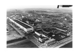 Aerial View of Chernobyl Power Station Giclee Print by Ria Novosti
