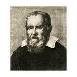 Galileo Galilei, Italian Astronomer Giclee Print by Sheila Terry
