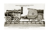 Seguin Locomotive, France, 1827 Giclee Print by Miriam and Ira Wallach